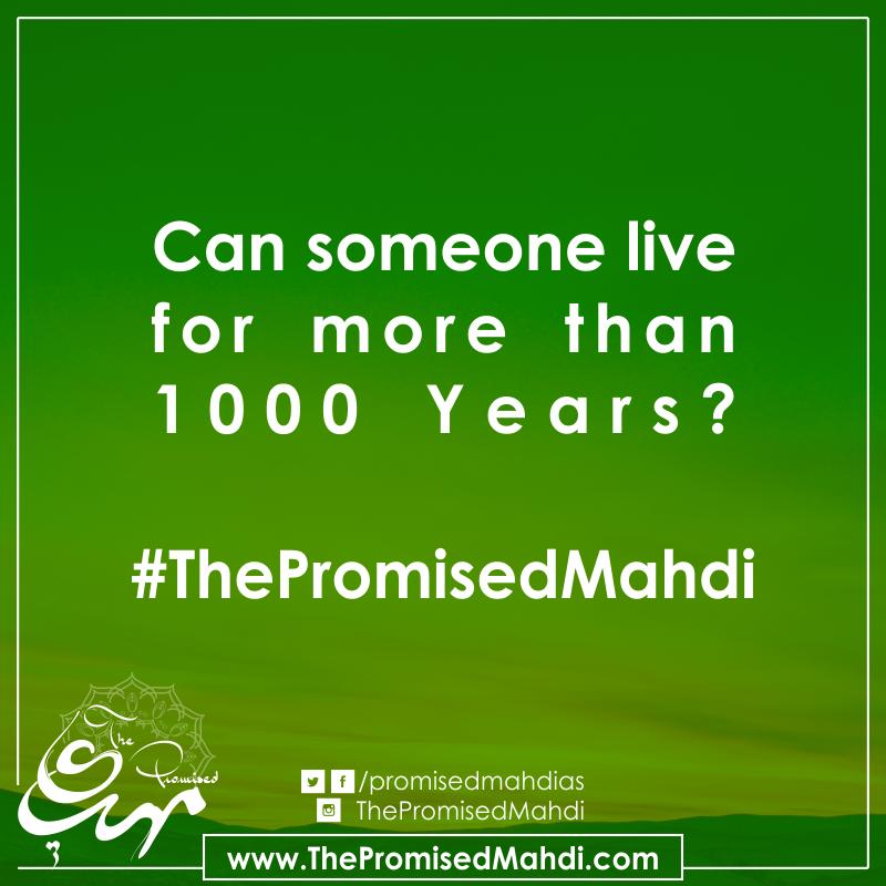 Imam Mahdi (a.s.) Long Life